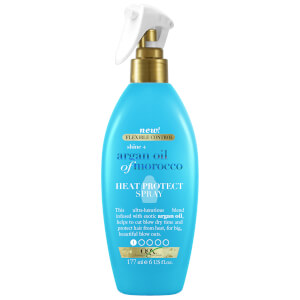 OGX Shine+ Argan Oil of Morocco Heat Protect Spray 177ml