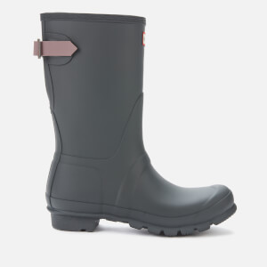 Hunter Women's Original Back Adjustable Short Wellies - Firth/Atlantis