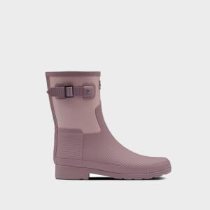 Hunter Women's Refined Short Texture Boots - Awe/Atlantis