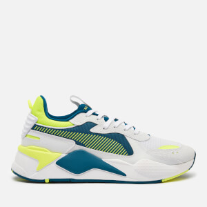 Puma Men's Rs-X Hard Drive Trainers - Puma White/Fizzy Yellow/Digi/Blue
