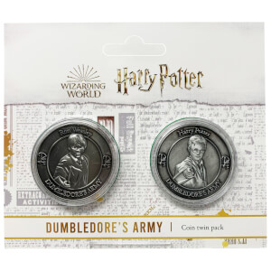 Harry Potter Dumbledore Army Collectible Coin Set : Harry and Ron