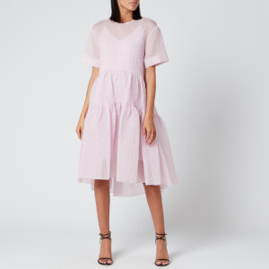 Victoria, Victoria Beckham Women's Exaggerated Cocoon Dress - Lilac Pink