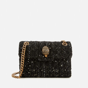 Kurt Geiger London Women's Tweed Mini Kensington Bag - Black