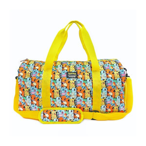 Loungefly Pokemon Starters AOP Nylon Duffle Bag