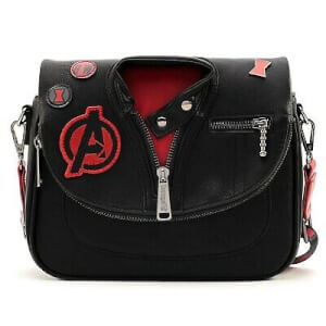 Loungefly Sac à Bandoulière Veste Black Widow Marvel