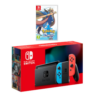 Nintendo Switch (Neon Blue/Neon Red) Pokémon Sword Pack