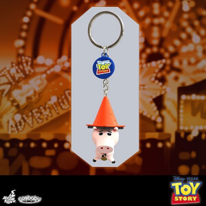 Hot Toys Cosbaby Toy Story Hamm Keychain