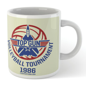 Top Gun Volleyball Tournament 1986 Mug