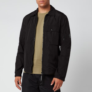 C.P. Company Men's Zip Shirt Jacket - Black