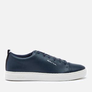 PS Paul Smith Men's Lee Leather Low Top Trainers - Dark Navy