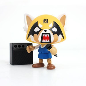 Aggretsuko Death Metal Wing Eyes Action Vinyl Figure
