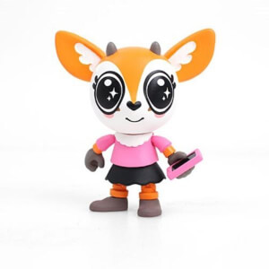 Aggretsuko Tsunoda Action Vinyl Figure