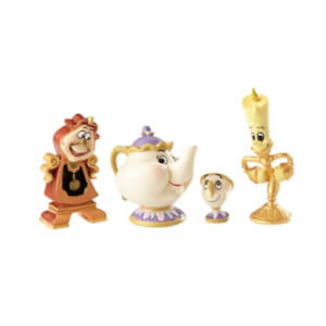Disney Showcase Beauty and the Beast Enchanted Objects Set