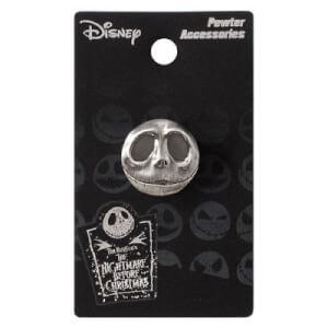 Disney Nightmare Before Christmas Jack Smiling Pewter Lapel Pin
