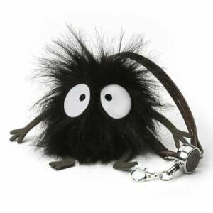 Spirited Away Soot Sprite Handbag Reel Key Holder