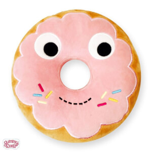 Yummy World Pink Donut Medium Plush