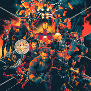 Mondo Avengers: Infinity War (Original Motion Picture Soundtrack) 3 Colour LP
