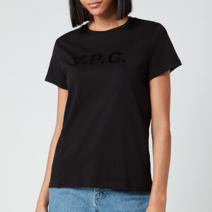 A.P.C. Women's VPC T-Shirt - Black