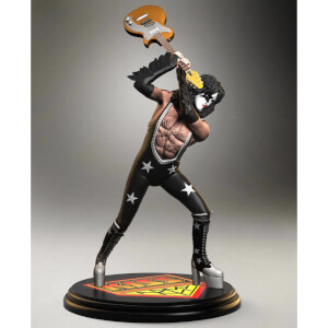 Knucklebonz Kiss Rock Iconz Statue 1/9 The Starchild (ALIVE!) 20 cm