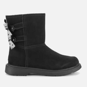 UGG Kids' Tillee Suede Boots - Black