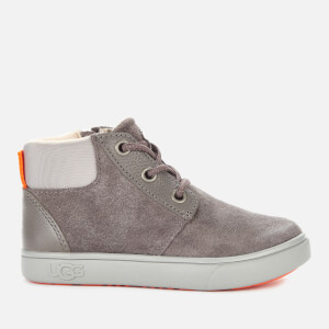 UGG Toddlers' Jayes Suede Hi-Top Trainers - Charcoal