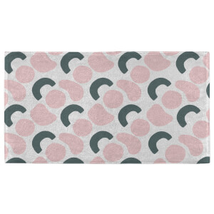 Hand Towels Abstract Circles Pattern Hand Towel