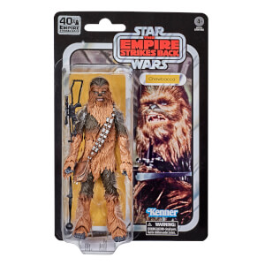 Figura de acción Chewbacca SW 40.º Aniv. El imperio contraataca - Star Wars The Black Series