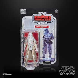 Hasbro The Black Series Star Wars 40th Anniversary Empire Strikes Back Snowtrooper Action Figure