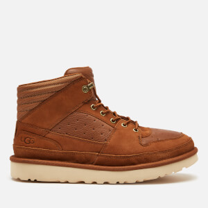 UGG Men's Highland Sport Hiker Mid Leather Trainers - Chestnut