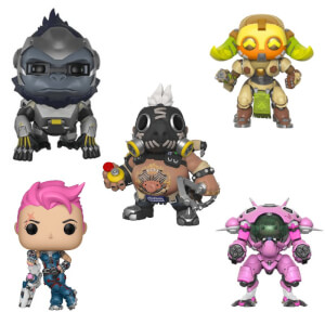 Overwatch - Tank Heroes - Funko Pop! Vinyl - Funko Pop! Collection