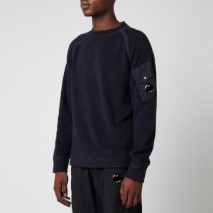 C.P. Company Men's Crewneck Sweatshirt - Total Eclipse