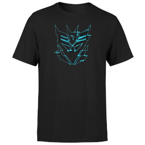 T-Shirt Transformers Decepticon Glitch - Nero - Unisex