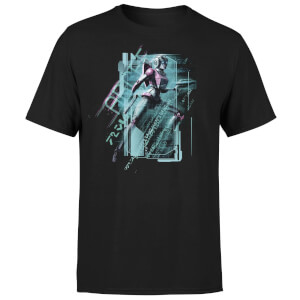 T-shirt Transformers Arcee Tech - Noir - Unisexe