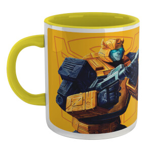 Transformers Bumblebee Mug - White/Yellow