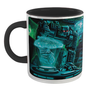 Transformers Decepticon Mug - White/Black