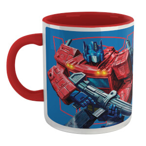 Tasse Transformers Optimus Prime - Blanc/Rouge