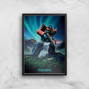 Poster Fine Art Transformers Optimus Prime A2