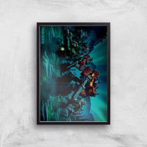 Poster Fine Art Transformers Autobots A2