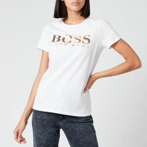 BOSS Women's Elogo T-Shirt - White