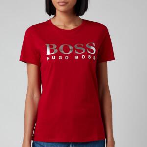 BOSS Women's Elogo T-Shirt - Bright Red