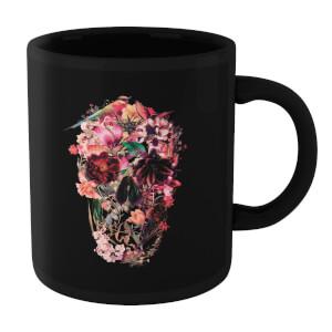 Ikiiki Bird Skull Mug - Black