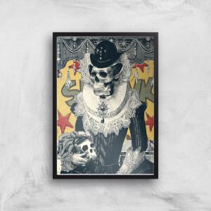 Ikiiki Lady Giclee Art Print