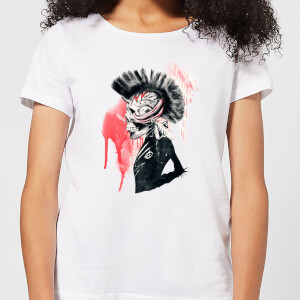 Ikiiki Punk Women's T-Shirt - White