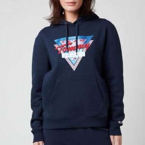 Tommy Jeans Women's TJW Modern Logo Hoodie - Twilight Navy