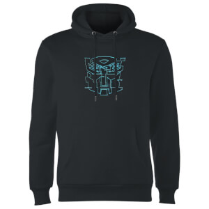 Transformers Autobot Glitch Hoodie - Black
