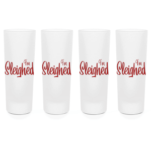 I'm Sleighed Shot Glasses - Set of 4
