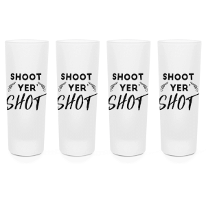 Shoot Your Shot Shot Glasses - Set of 4