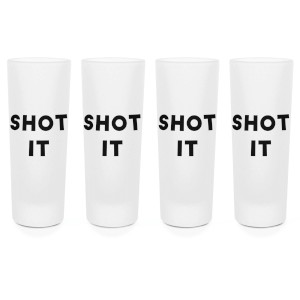 Shot It Shot Glasses - Set of 4