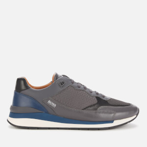 BOSS Business Men's Element Running Style Trainers - Open Grey