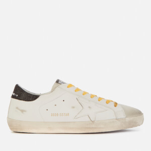 Golden Goose Deluxe Brand Men's Superstar Leather Trainers - White/Black